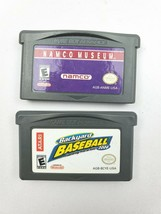 Nintendo Gameboy Advance Namco Museum and Backyard Baseball - $13.85