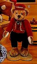 """Ganz Cottage Collectibles""""Bellhop"""" #CC7012-- 4"""" Bear-Artist Lorraine Chien- NWT - $15.99"""