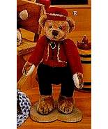 """Ganz Cottage Collectibles""""Bellhop"""" #CC7012-- 4"""" Bear-Artist Lorraine Chi... - $15.99"""