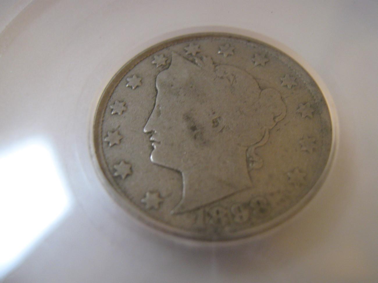 5 Cents, 1898, Liberty Nickel , SEGS , G-4