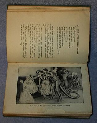 Five Little Peppers Midway 1893 Margaret Sidney Series Book Antique Vintage