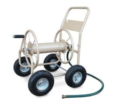 Hose Reel Cart 4 Wheel Garden Water Watering Pl... - $156.49