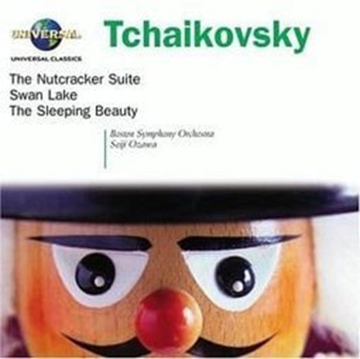 Tchaikovsky the nutcracker  swan lake by selji ozawa  boston symphony orchestra