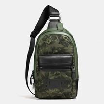 Coach Terrain Pack Backpack Book School Bag Green Floral Hawaiian Print ... - $178.60