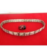 Antique Vintage Rare Sterling Silver Ethnic Bride Wedding Belt Made in I... - $2,200.00