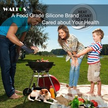 WALFOS 1 piece food grade Heat Resistant Silicone Kitchen barbecue oven ... - $9.99