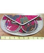 Flower Coaster Set of Six Handmade w/ Snap Carry Case!  - $10.80
