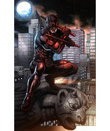 Marvel Daredevil Glossy Print 11 x 17 In Hard Plastic Sleeve - $24.99