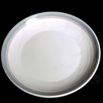 Vintage Set of 2 Pfaltzgraff Aura Pink 7 inch salad plate ceramic copyright USA  - $8.66