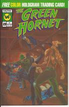 Now Comics The Green Hornet #23 Direct Edition w/Trading Card Karate Wars - $3.95