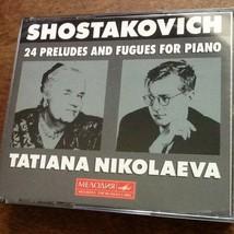 Shostakovich 24 Preludes and Fuges Nikolaeva USED 3 CD Set - $34.65