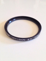 Genuine Tiffen 52mm Diffusion #3 Lens Filter Video Photo - $79.93