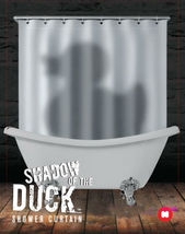 Shadow Of The Duck Cool Design Peva Bathroom Use 1.8 X 1.8 M Shower Curtain Set - $26.99