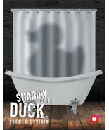 SHADOW OF THE DUCK Cool Design PEVA Bathroom Use 1.8 x 1.8 m SHOWER CURT... - $26.99