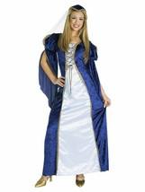 Womens Juliet Costume Standard Size 8-12 Renaissance Gown Dress Headpiec... - $31.49