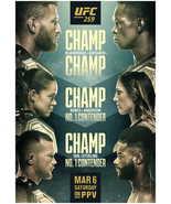 UFC 259 Poster Błachowicz VS. Adesanya Poster MMA UFC Event New Art Prin... - $10.90+