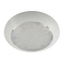 Aqua Signal Colombo LED Dome Light - Warm White/Red w/White Plastic Housing - No - $45.42