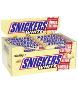 Snickers WHITE Chocolate Candy bars  Made in GERMANY -32 bars-FREE SHIPP... - $79.19