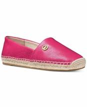 New NIB Michael Kors MK Women's Kendrick Leather Slip On Flats Shoes Ult... - $89.94
