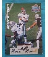1993 Heads & Tails Team NFL Super Bowl XXVII #SB21 Troy Aikman Dallas Co... - $1.00