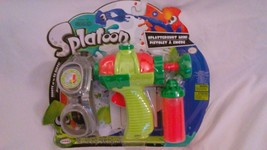 NIB World of Nintendo Splatoon Splattershot Mini, Goggles, Gun Sticky Orange Ink - $13.49