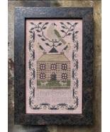 A Miniature Quaker Sampler cross stitch chart Kathy Barrick Designs  - $8.00