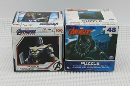 Lot of 2 New Marvel Avengers 48pc & 100 pc Puzzles FREE SHIPPING - $11.87