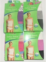 Fruit of the Loom Womens 3pk Hipsters Underwear Various Colors Sizes 8 &... - $12.99
