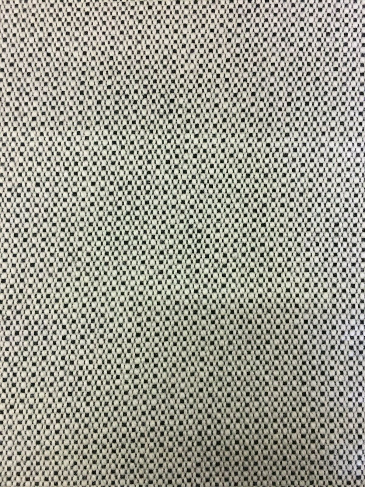 Maharam Upholstery Fabric Lanalux by Girard Natural Black 466240-007 4.375 yds