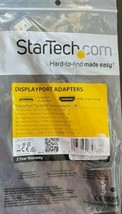 Startech.com DP2HD4KS Displayport To HDMI Active Adapter -4K NEW - $22.98