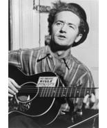 Art print POSTER/Canvas Woody Guthrie Folk Singer Guitarist - $3.95+
