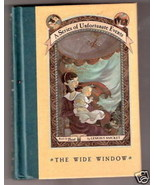 Lemony Snicket  THE WIDE WINDOW  FIRST EDITION  Ex++ - $12.91