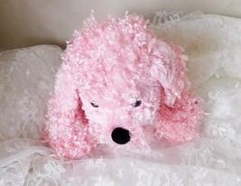 """GANZ Plush Pink Poodle Webkinz 11"""" (Head to tail) HM107 - No Code Plush ... - $9.49"""