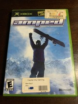 Amped: Freestyle Snowboarding (Microsoft Xbox, 2001) Complete Video Game - $5.49