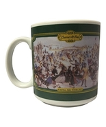 """Vintage 1992 Houston Foods Green """"Central Park Winter 1862"""" by Currier &  - $24.99"""