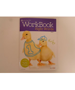 Workbook Sight Words with stickers age 3-5 Grades K Kids Activity Book B... - $2.95