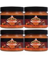 4 McCormick Sweet & Smoky Rub Seasoning Grill Mates Flavor Chicken Steak... - $22.64