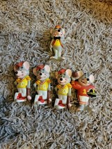 Showbiz Pizza prize toy Chuckie Cheese 1980s figure advertising toy Lot ... - $14.03