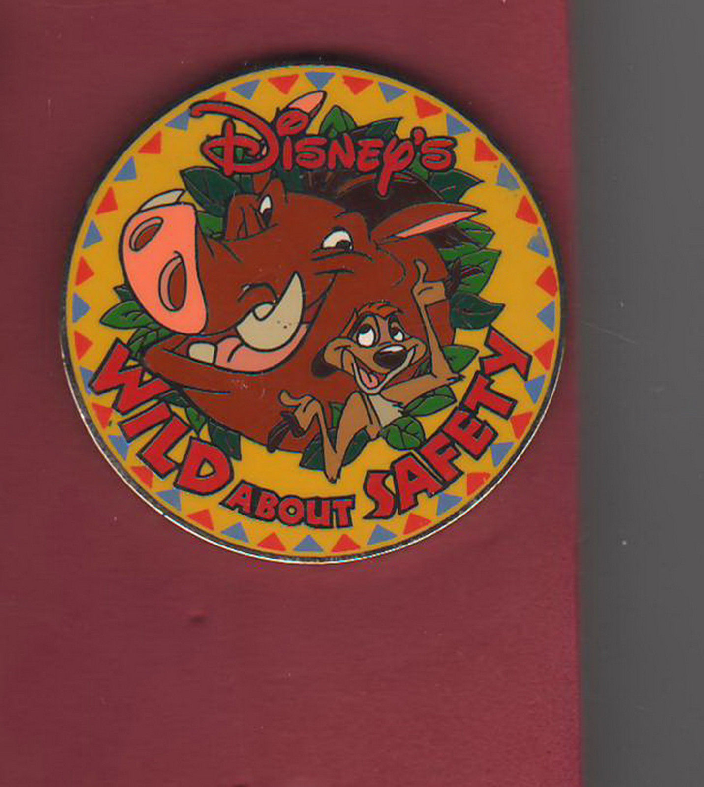 Lion King Timon and Pumbaa Wild about Safety  Free Shipping choose 1 Disney pin