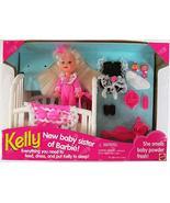 Barbie KELLY New Baby Sister of Barbie! Set (1994) - $78.20