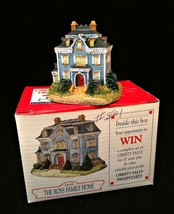 Liberty Falls The Ross Family Home Collection of Miniature Buildings AH139 - $9.89