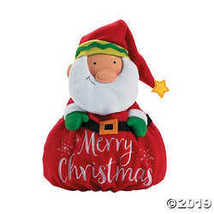 Plush Nordic Noel Softy Santa  - $18.74