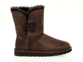 Ankle boot UGG AUSTRALIA 5803 C in chocolate suede leather - Women's Shoes - $222.30