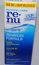 Bausch + Lomb ReNu Advanced Triple Disinfect Formula 12 oz Ex 11/19 NEW - $8.99