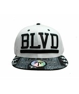BLVD Supply Co. The Rag Palm Tree  Adjustable Snapback White Flat Bill C... - $18.00