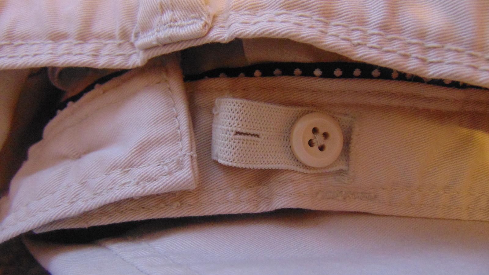 Gap Kids Size 14 Khaki Pants Adjustable Waist 4 Pockets-Belt Loops-T-Shirt-