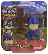 Fisher-Price Nickelodeon Mike the Knight, Mike, Training Post and Yap Pack - $3.91