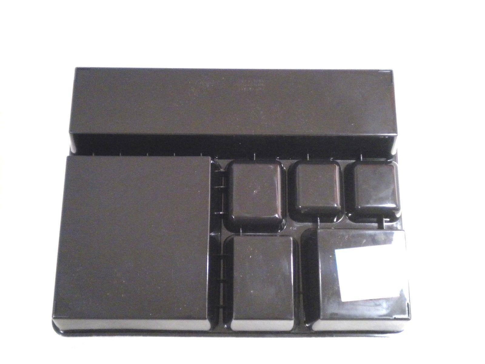 Black 2 5 deep office desk drawer organizer tray desk - Desk drawer organizer trays ...