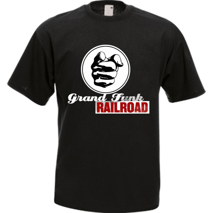 Grand Funk Railroad Band Music T-Shirt