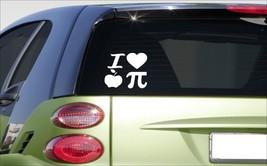 "i love apple pi 6"" sticker *E967* DECAL teacher physics algebra calculus... - $3.99"